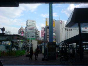Bus Terminal at Okayama Station